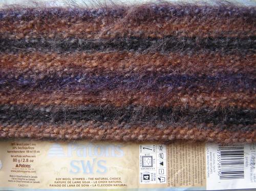 sample of soy-wool