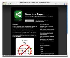 Share Icon Web Site