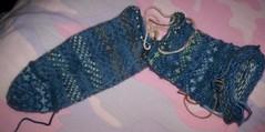 Iris Garden sock 1