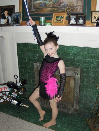 Emma the baton twirler