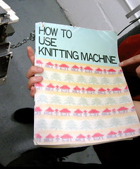 How to Use Knitting Machine (by Brian Sawyer)