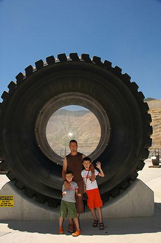 Kennecott Copper Mine - Mine Truck Wheel