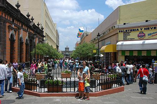 Guadaljara - 06 - Pedestrian Street