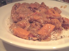 serve with basmati rice