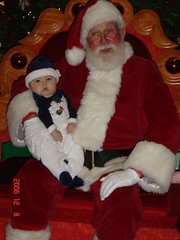 1st visit with Santa