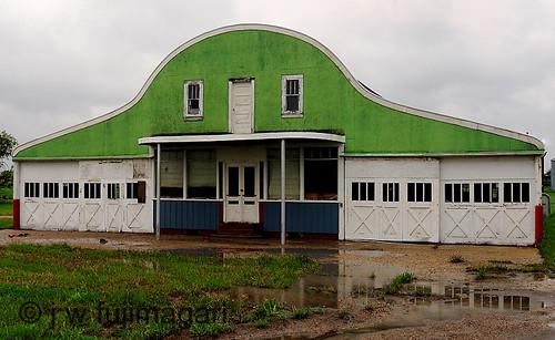 Green Garage Front