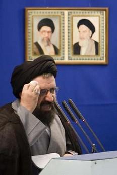 clérigo iraní fatwa vs Rushdie vigente por otros 18 años