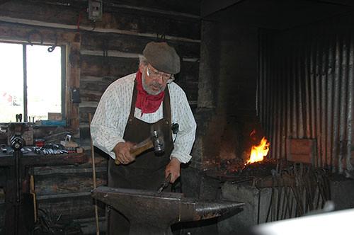 Bar U Ranch - Marcel blacksmiths