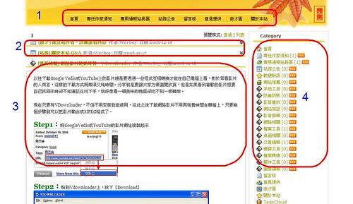 [站務] 快速瞭解網站架構,輕鬆學習沒煩惱 326053458_f1e06fa6ef