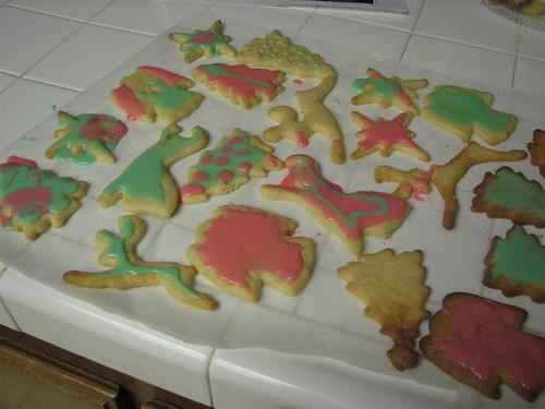 GF christmas cookies