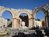 St. Simeon Cathedral Ruins. The pillar