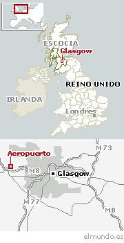 mapa bombs glasgow