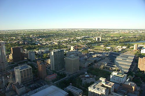 Calgary - View from the top