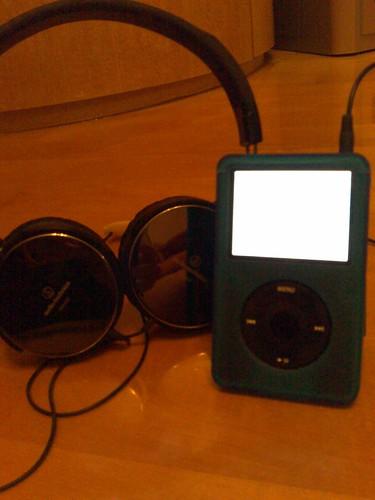 New Casing with my Audio Technica ATH-ES7 Headphones