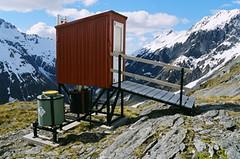 Toilet at 1400m, French Ridge Hut