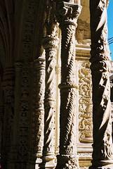 Pillars at monastery
