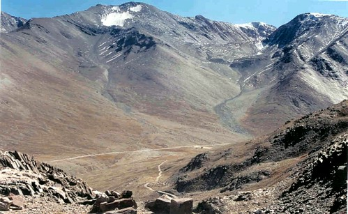 Kunzam Pass from above