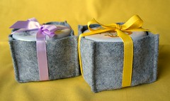 Wool boxes and candle tins