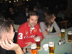 Mike, Chris, Jacky, Markus und Peter im Regensburger Kneitinger am Arnulfsplatz