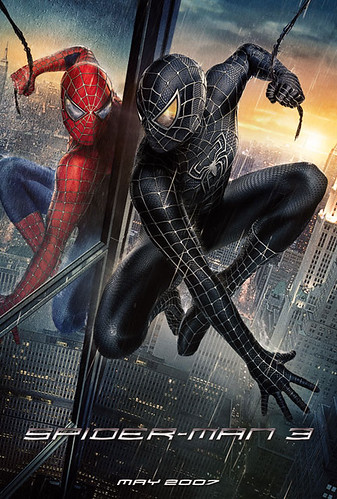 Spiderman 3 International Poster
