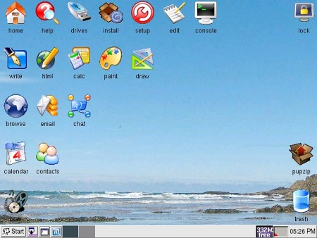 OLPC - Interfície