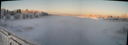 Panorámica del lago