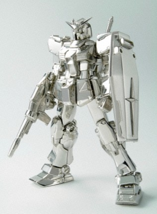 Platinum Gundam from Bandai