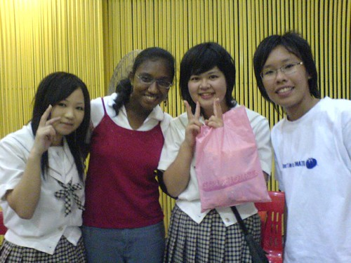 shirrin, me and the japanese girls.