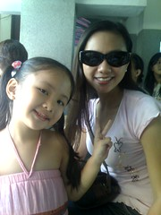 Mom and Ella DBS Family Day 2