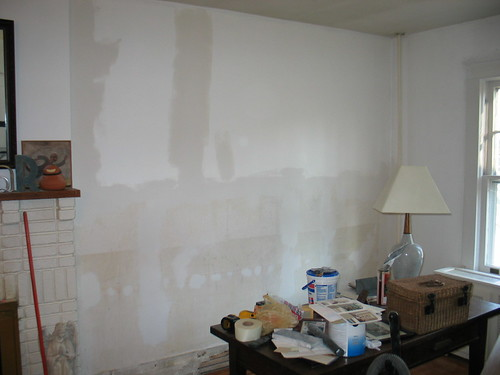 Living Room wall-before 1