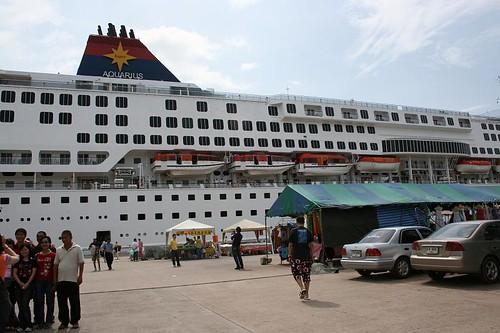 Super Star Aquarius at Phuket Port