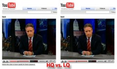 High Quality vs. Low Quality Video on YouTube