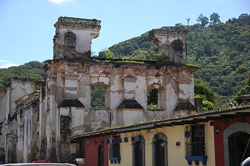 La Antigua  - 05 Church ruins