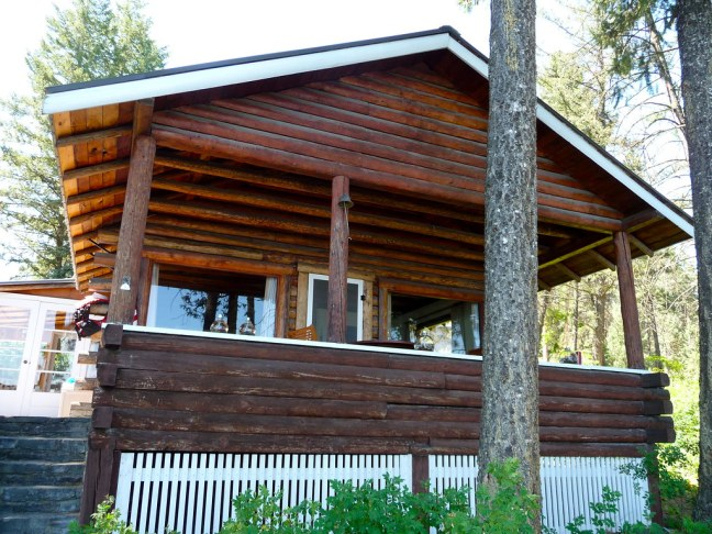 Family cabin on Flathead Lake
