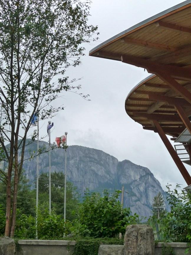 Visitor Center in Squamish, B.C.