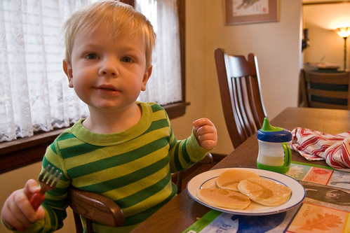 Eating the Pancakes