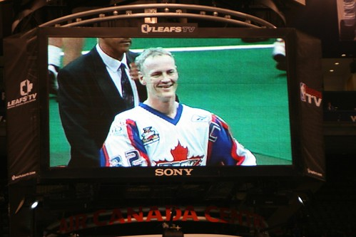 Jim Veltman at his final NLL game