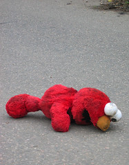 Roadkill Elmo