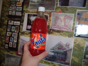 Fanta Red Tangerene (Seven Eleven Exclusive?)