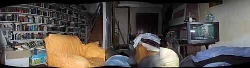 Uitzicht uit de trekzetel, 19 juli 2003
