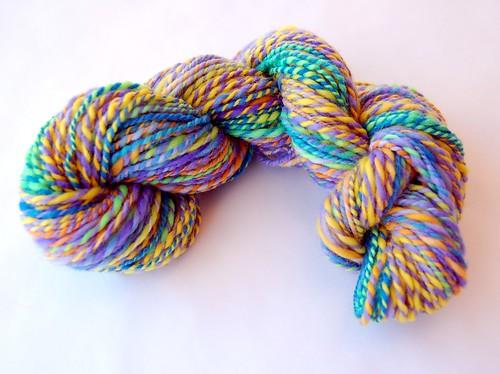 Handspun wool yarn (by jeninmaine)