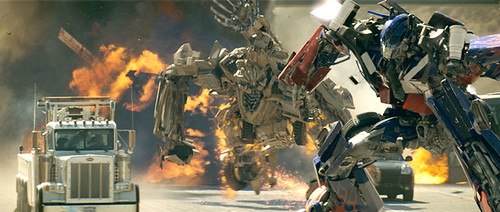 Bonecrusher and Optimus Prime