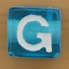 Bead Letter G