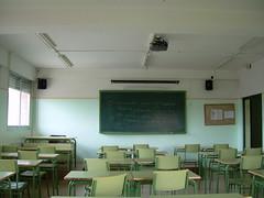 Mis clases no tienen nada que ven con este entorno, más bien con el salón de casa.