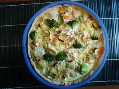 Quiche de legumes