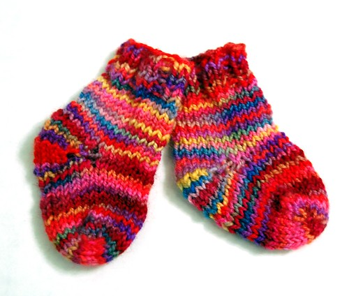 Koigu Baby Socks (by jeninmaine)