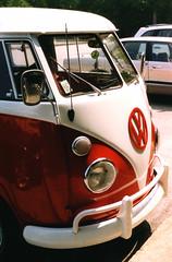 VW Bus, Fayette State Park, MI