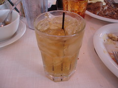 Mint Julep (not in a julep cup) at Mary Mac's Tea Room in Atlanta GA