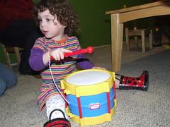 Drummin' (by sarahmichelef)