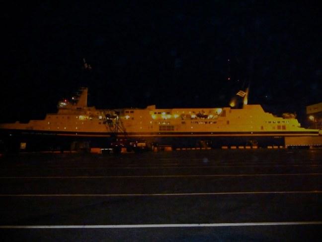 Ferry back to Nova Scotia